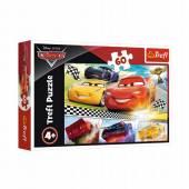 TREFL PUZZLE 60 el.  Legendarny wyścig/Disney Cars 17334