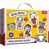 TREFL PUZZLE BABY CLASSIC Wesoła Kicia Kocia 36088