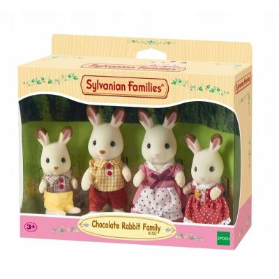 SYLVANIAN FAMILIES 4150 RODZINA KRÓLIKÓW