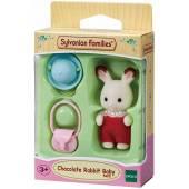Sylvanian Dziecko królików z czekoladowymi uszami