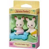 SYLVANIAN Baby króliczki czekoladowe bliźniaki 05420