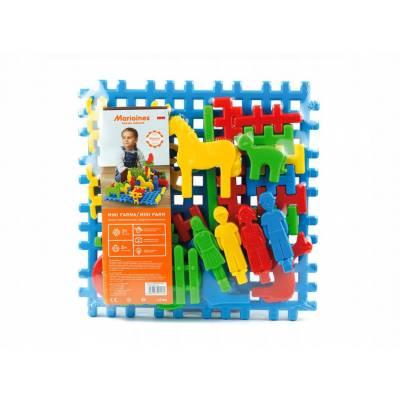 Marioinex Klocki konstrukcyjne Mini Farma 01182