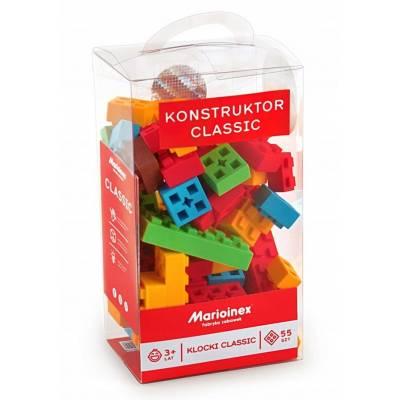 Klocki Marioinex Classic elastyczne 3049 55 el.