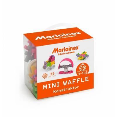 MARIOINEX Klocki wafle dziewczynka mini 35szt 02790