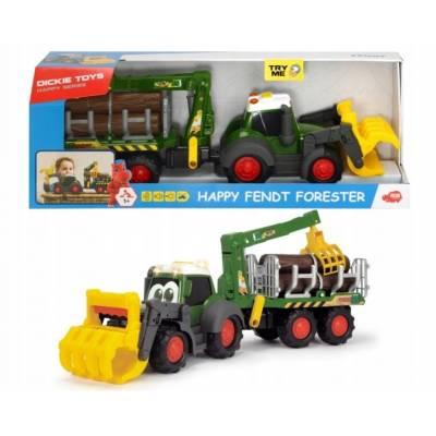 Traktor Happy Fendt Leśny zestaw 381-9003 Dickie