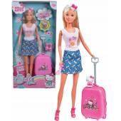 Lalka Steffi Love Hello Kitty zestaw travel 928-3012