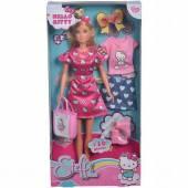 Steffi Love Hello Kitty lalka z ubrankami 928-3013