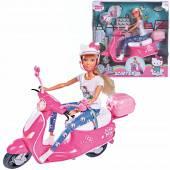 Steffi Love Hello Kitty lalka na skuterze 928-3024