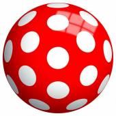 John piłka w kropki 23cm Kropki 130057131