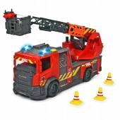Dickie Straż pożarna z drabiną Scania Dźwięk 371-6017