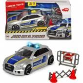 Dickie SOS Samochód Audi RS3 policja 371-3011