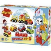 Abrick 3w1 Superpack zestaw auta i klocki 7600007770