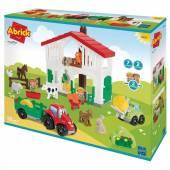 Abrick Farma z figurkami i poajzdanmi 7600003021