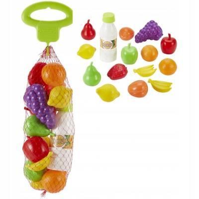 Ecoiffier warzywa i owoce w siatce 7600000954