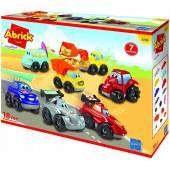 Abrick zestaw 7 pojazdów 7600003298 32984