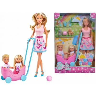 Steffi lalka opiekunka Evi i Timmiego 573-3229