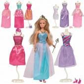 Lalka Steffi z 9 sukienkami do przebierania 573-3092