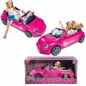 Lalka Steffi w kabriolecie VW Beetle 573-3353