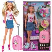 Lalka Steffi z walizką w podróży 573-3289