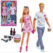 Lalka Steffi i Kevin na randce w kinie 573-3435