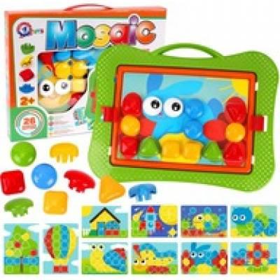 Zabawka Mozaika edukacyjna guziczkowa UA TechnoK TEH6269 06269