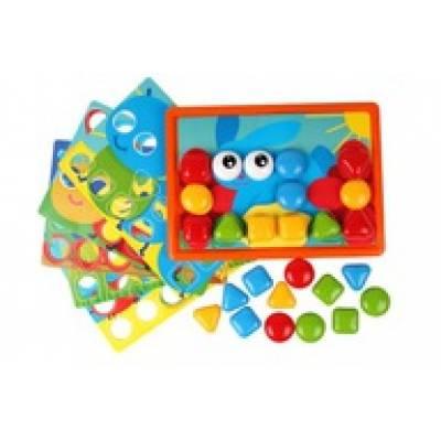Zabawka Mozaika edukacyjna guziczkowa UA TechnoK TEH6047 06047