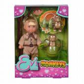 Lalka Evi z małpkami 573-3481