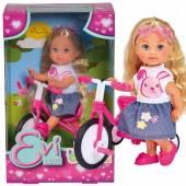 Lalka Evi na trójkołowym rowerku 573-3347
