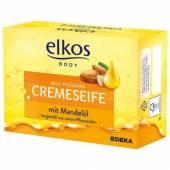 Elkos Cremeseife mit Mandelol Mydło 150g