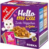 G&G Hello My Cat Zarte Happchen in Gelee 8szt 800g