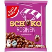 G&G Schoko Rosinen 200g