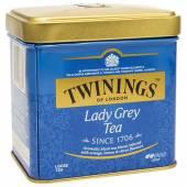 Twinings Lady Grey Tea Herbata Puszka 100g