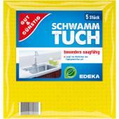 G&G Schwammtuch Ściereczki Kuchenne z Gąbki 5szt