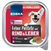 Edeka Feine Pastete Rind Leber dla Psa 150g