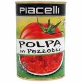 Piacelli Polpa Pezzetti Pomidory Rozdrobnione 400g