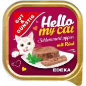 G&G Hello My Cat Schlemmerhappen Rind 100g