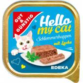 G&G Hello My Cat Schlemmerhappen Lachs 100g