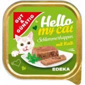 G&G Hello My Cat Schlemmerhappen Kalb 100g
