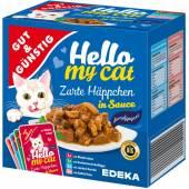 G&G Hello My Cat Zarte Happchen in Sauce 8szt 800g