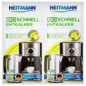 Heitmann Bio Schnell Entkalker Odkamieniacz 2x25g