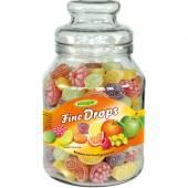 Woogie Fruit Drops Mix 966g