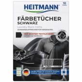 Heitmann Wasche Schwarz Tucher 10szt