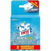 WC Ente Active 3in1 Marine Zapas do Zawieszk 2x40g