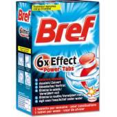 Bref 6xEffect Power Tabs WC 8szt 200g