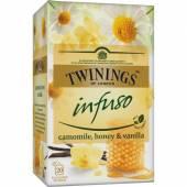 Twinings Infuso Camomile Honey Vani Herb 20szt 30g