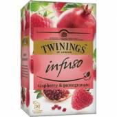 Twinings Infuso Raspberry Pomegrante 20szt 30g