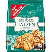 G&G Schoko Tatzen Ciastka 250g