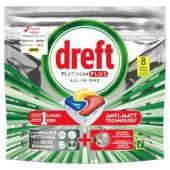 Dreft Platinum Plus Citron 8szt 124g