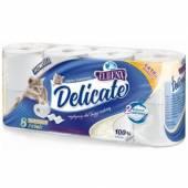 Elleena Delicate Papier Toaletowy 2war 8szt
