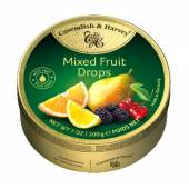 C&H Mixed Fruit z gruszką Drops  200g/9